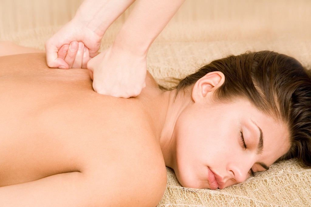bigstockphoto_Massage_of_a_back_773427